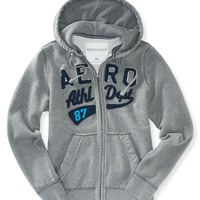 AERO ATHLETIC FULL-ZIP HOODIE