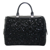 Louis Vuitton Black Sequin Sunshine Express Speedy Bag