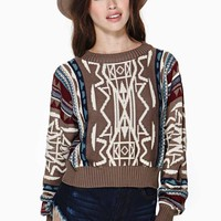 Outland Crop Sweater