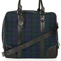 Tartan Military Weekend Bag
