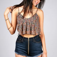 Wallflower Crop Top