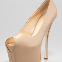 Napa Exaggerated-Platform Pump