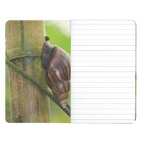 Exotic Snail on Bamboo Close-Up Journal