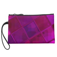 Re-Created Mirrored SQ Wristlet Clutches
