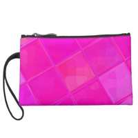 Re-Created Mirrored SQ Wristlet