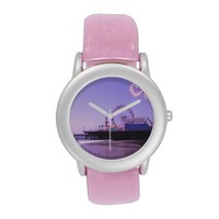 Santa Monica Pier Purple Hearts Wristwatches