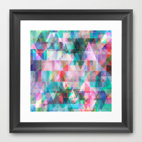 Graphic 8C Framed Art Print by Mareike Böhmer Graphics