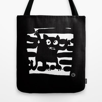 little monster Tote Bag by Marianna Tankelevich