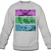thats how i roll color Sweatshirt Crew Neck - TeeeShop