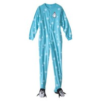Nick & Nora® Women's Footie Pajama - Blue