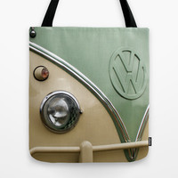 VW Camper Classic Tote Bag by Alice Gosling