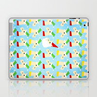Unicorn Santa And Elves Laptop & iPad Skin by That's So Unicorny