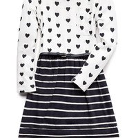 Sweetheart Striped Dress (Kids)