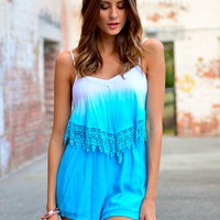 SUMMER RAINDROP PLAYSUIT