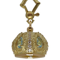 Paul Morelli Gold Aquamarine and Diamond Raja Meditation Bell Pendant | Fine Jewellery by Paul Morelli | Liberty.co.uk