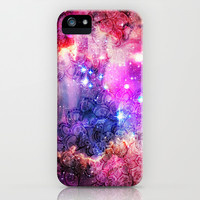 Doodles in Deep Space iPhone & iPod Case by micklyn