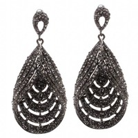 ShoeDazzle Set to Sparkle Earrings
