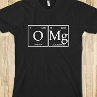 Skreened OMG Periodic Table Black Tee