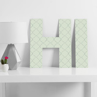 Hadley Hutton Dotty Green Decorative Letters