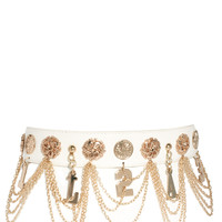 River Island Glam Hanging Chain Belt
