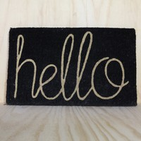 Hello Doormat | Lightly