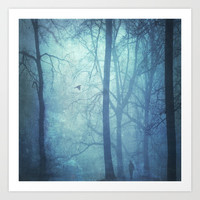 vanishing mind Art Print by Dirk Wuestenhagen Imagery