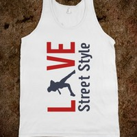 Skreened Love Baseball Tank Top
