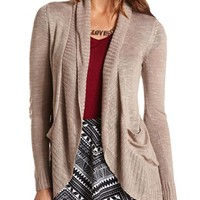 LIGHTWEIGHT KNIT SLUB CARDIGAN