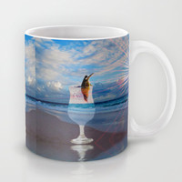 BEACH FANTA-SEA Mug by catspaws