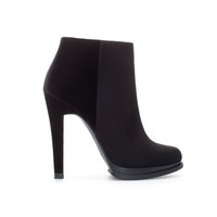 HIGH HEEL ANKLE BOOT WITH PLATFORM