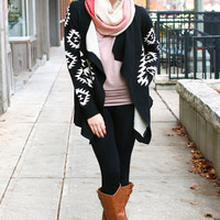 Draped in Aztec Cardi