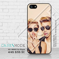 Miley cyrus Justin bieber iPhone5 Case, iPhone 4 case, iPhone 5C Case, iPhone5s Case, Miley cyrus r iPhone Case, Phone Cases - M5083