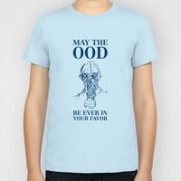 May the ood be ever in your favor Kids T-Shirt by Nico Zahlut