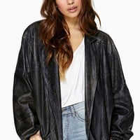 Now Or Never Leather Jacket