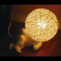 Big Head Baby Table Lamp