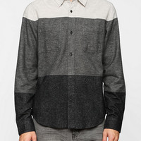 Charles & 1/2 Colorblock Flannel Button-Down Shirt - Urban Outfitters