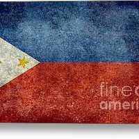 Republic of the Philippines national flag fifty percent of commission WILL go to help them recover