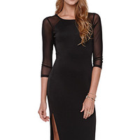 LA Hearts Under Cover Long Sleeve Midi Dress at PacSun.com