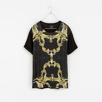 BAROQUE PANEL T-SHIRT