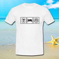 Eat Sleep VW Volkswagen - tshirt S,M,L,XL