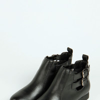 Natalie Cut Work Side Ankle Boot