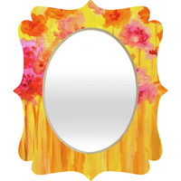 Rosie Brown Waiting For Spring Quatrefoil Mirror