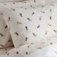 SKIER SHEET SET