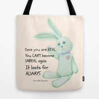 Real Tote Bag by Veronica Ventress