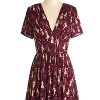 Marvelous Maraschino Dress in Paris | Mod Retro Vintage Dresses | ModCloth.com