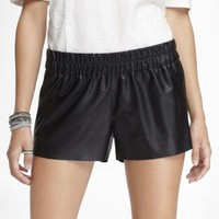 NWT Express Leather Soft Shorts SZ: M