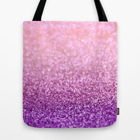 Lilacs in the Snow Tote Bag by Lisa Argyropoulos