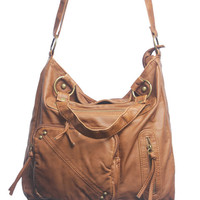 Triple Zip Oversized Bag