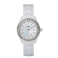 Women's Fossil Stella Mini Three Hand Resin Watch | Scheels