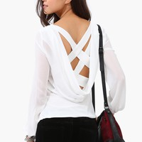 Criss Cross Blouse